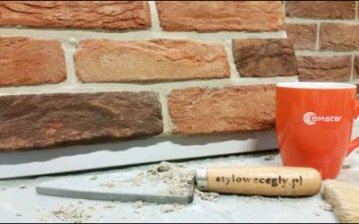 Fugowanie cegły ręcznie formowanej